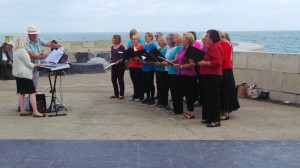Angmering Choir Party on the Prom